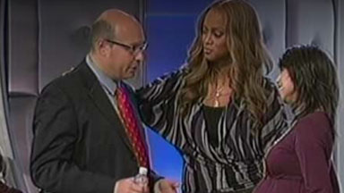 Watch Video: Tyra Banks and Dr. Oleg Bess Pregnancy Party