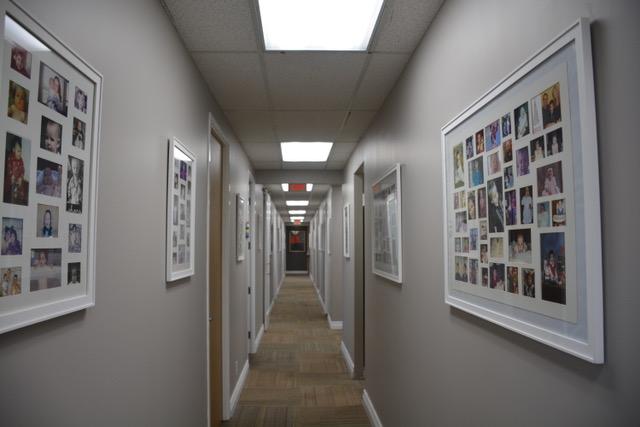 Office laser90210: corridor