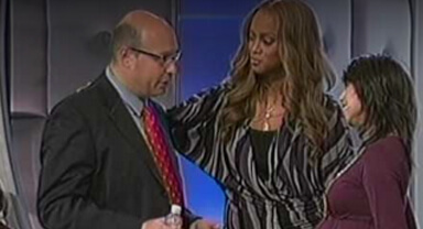 Play Video: Tyra Banks and Dr. Oleg Bess Pregnancy Party